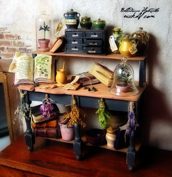 erickav_miniatures_books_alchemist_realistic_wizard_lair_inspiration_07