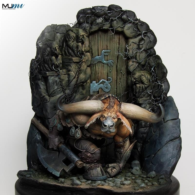 'The Art of Paul Bonner' painted by Marc Masclans and sculpted by Joaquin Palacios